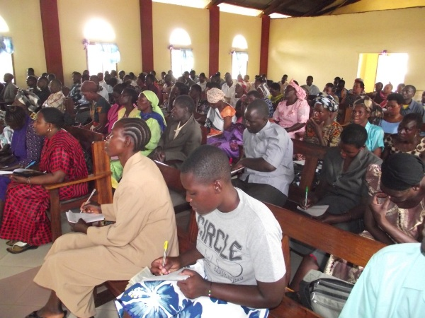 Participants of the seminar on child ministry