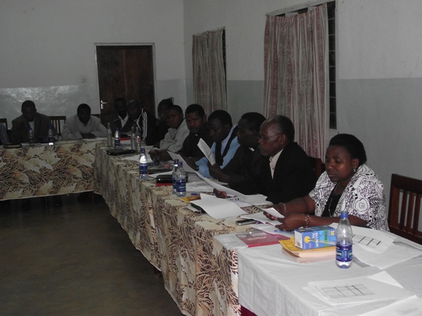 Diocesan Council in session November 18, 2010