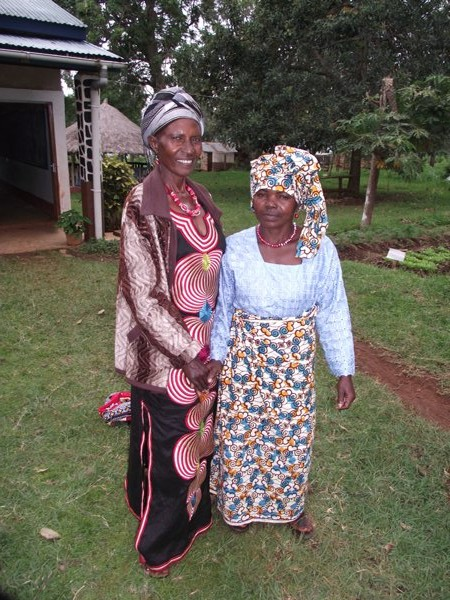 One in Christ - Maria Mwita (of Bunchari clan, left) and Marieta Anton (Renchoka clan, right) during the Synod