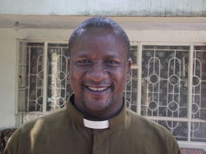 Rev Canon Samwel Nyageswa - The Vicar General (chief priest) for the diocese
